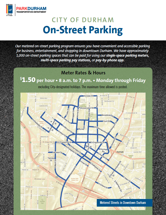 On-Street Parking Map