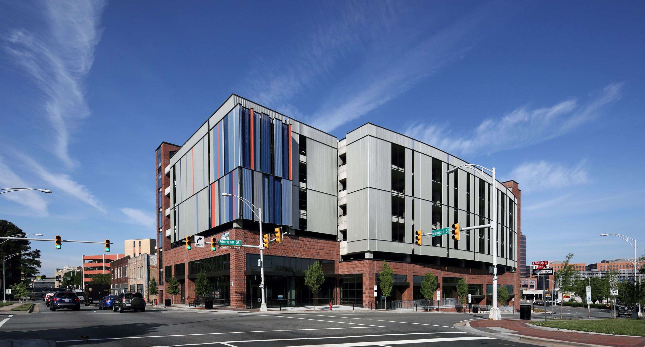 Morgan Rigsbee Parking Garage Rendering